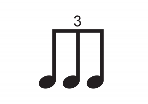 Extension Package 3 - 40 Pieces - Single, Double, Triple note groupings and Rests