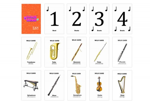 Random Rhythm Card Set